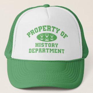 Property Of History Department (green) Trucker Hat