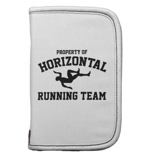 Property Of Horizontal Running Team Folio Planners