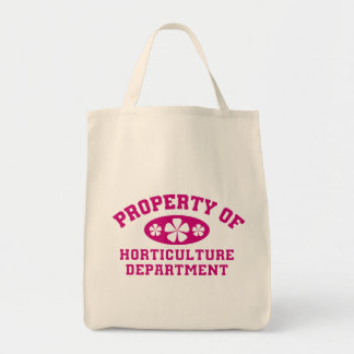 Property Of Horticulture Department Tote Bag