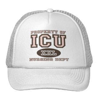 Property Of ICU Nurse Hat