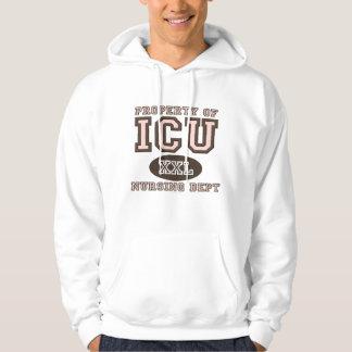 Property Of ICU Nurse Hooded Sweatshirt