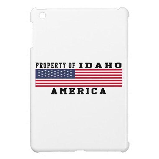 Property Of Idaho iPad Mini Cases