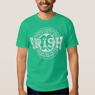Property of Irish Drinking Team Tee Shirts