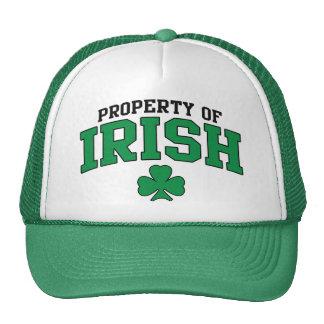Property of Irish t shirt Trucker Hat