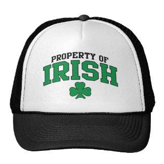 Property Of IRish Trucker Hat