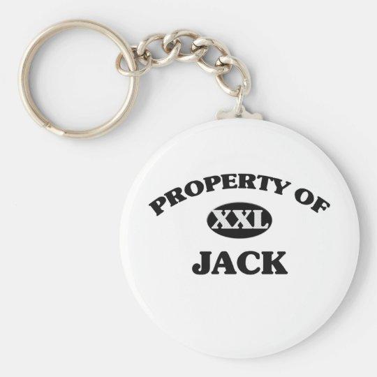 Property of JACK Keychain