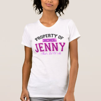 Property of Jenny Tee Shirt