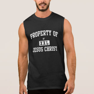 Property of Jesus Christ Sleeveless Shirts