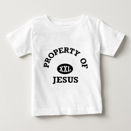 Property of Jesus christian apparel gifts Baby T-Shirt