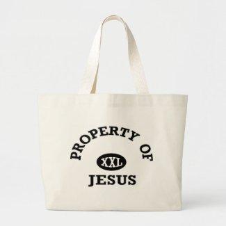Property of Jesus christian gift item bag