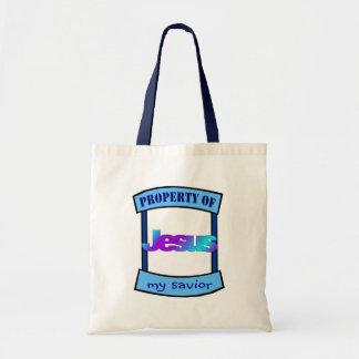 Property of Jesus my savior Christian Tote Bag