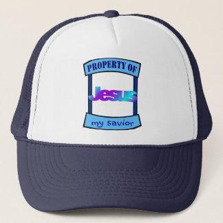 Property of Jesus my savior Christian Trucker Hat