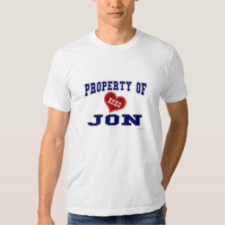 Property of Jon Shirt