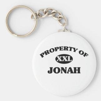 Property of JONAH Keychain