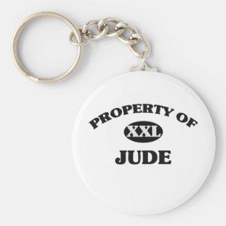 Property of JUDE Keychain