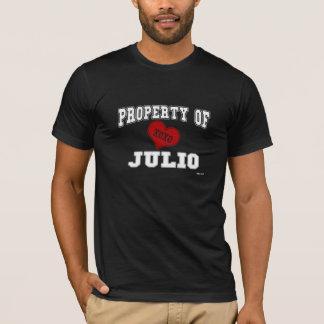 Property of Julio T-Shirt