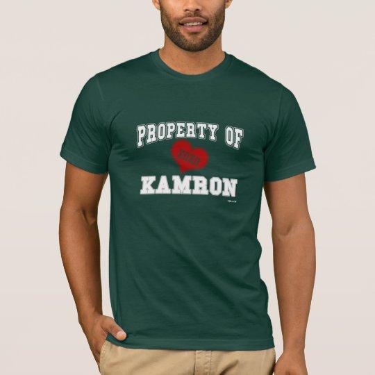 Property of Kamron T-Shirt