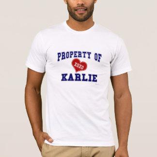 Property of Karlie T-Shirt