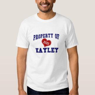 Property of Kayley T Shirt