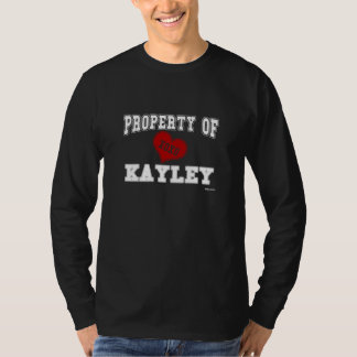 Property of Kayley T-shirt