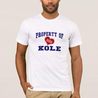 Property of Kole T-Shirt