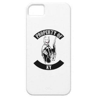 Property of Ky i phone 5 cover