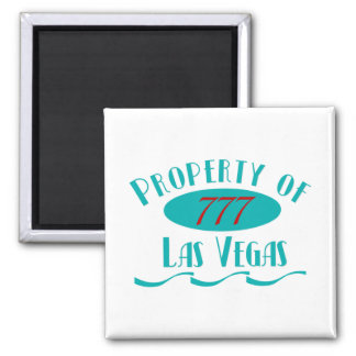 Property of Las Vegas Fridge Magnet