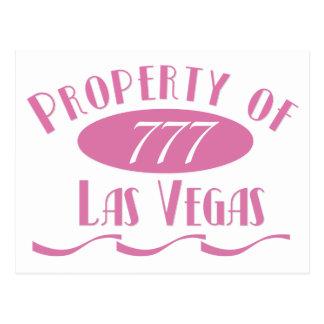 Property of Las Vegas Postcard
