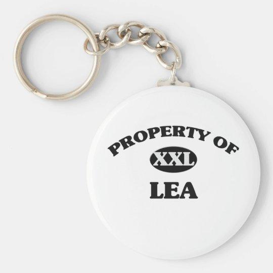 Property of LEA Keychain
