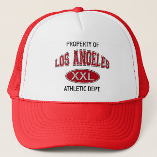 PROPERTY OF LOS ANGELES ATHLETIC DEPT TRUCKER HAT