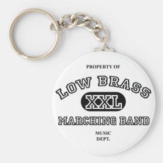 Property of Low Brass Keychain