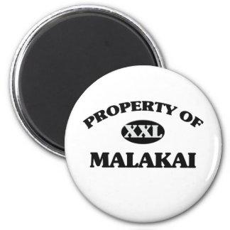 Property of MALAKAI Fridge Magnet