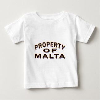 Property Of Malta. Shirts