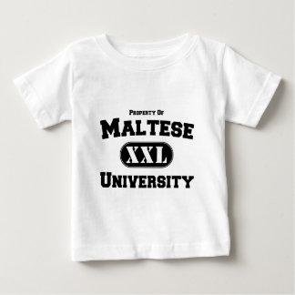 Property of Maltese University Baby T-Shirt