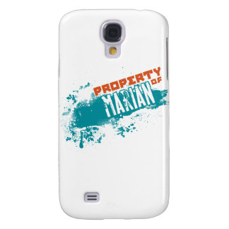 Property of Marian Galaxy S4 Cover