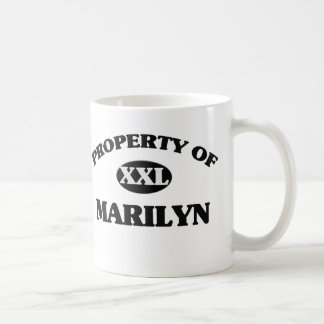 Property of MARILYN Mugs