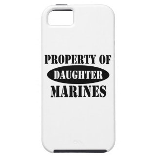 Property of Marine Daughter iPhone SE/5/5s Case