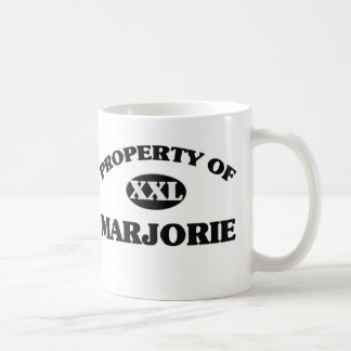 Property of MARJORIE Mug