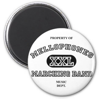 Property of Mellophones 2 Inch Round Magnet