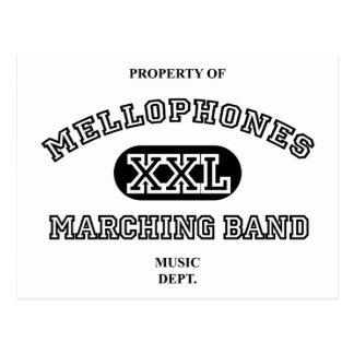 Property of Mellophones Postcard