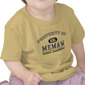 Property of Memaw Tshirt