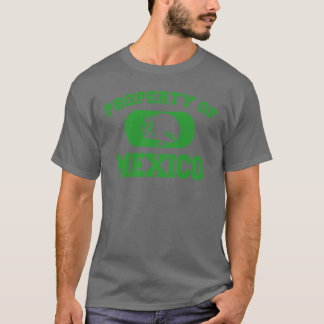 Property of Mexico Design T-Shirt