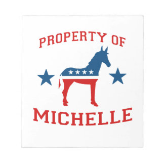PROPERTY OF MICHELLE OBAMA.png Note Pads