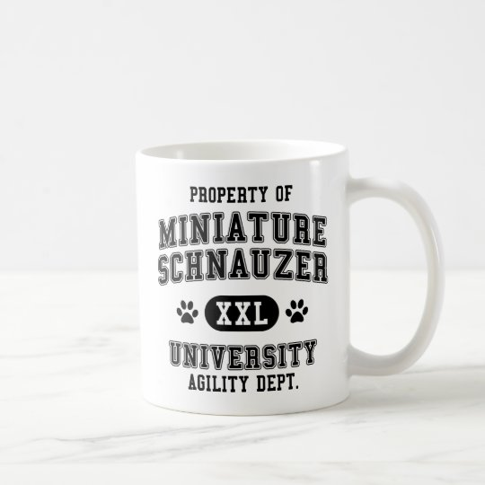 Property of Miniature-Schnauzer Coffee Mug