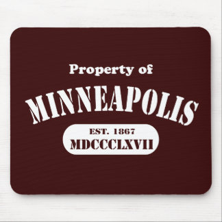 Property of Minneapolis Mouse Pad
