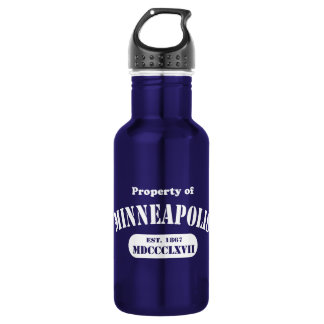 Property of Minneapolis Stainless Steel Water Bottle