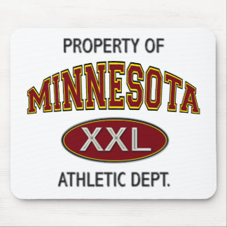PROPERTY OF MINNESOTA ATHLETIC DEPT. MOUSE PAD