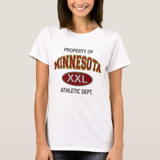 PROPERTY OF MINNESOTA ATHLETIC DEPT. T-Shirt