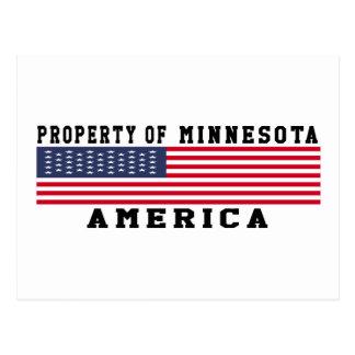 Property Of Minnesota Postcards