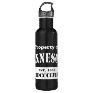 Property of Minnesota Stainless Steel Water Bottle